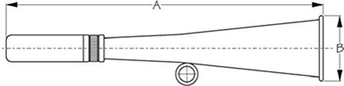 Seadog Line Manual Air Horn44; Stainless Steel 572050-1