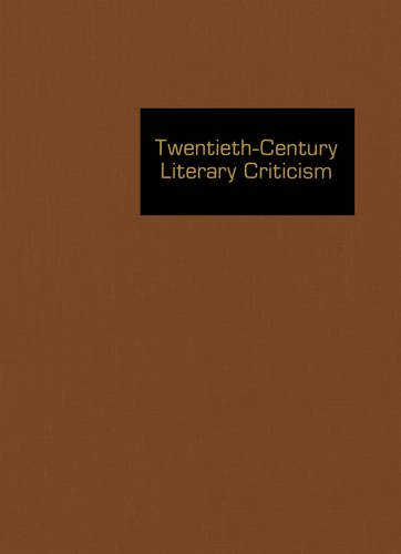 Download Twentieth-Century Literary Criticism, Vol. 170 ebook