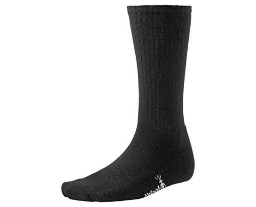 Smartwool Casual Rib Socks (SmartWool Men's Heathered Rib Socks (Black) X-Large)