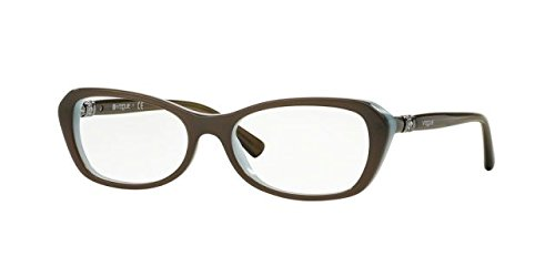 Eyeglasses Vogue VO 2960B 2322 MUD GREEN/OPAL - Eyeglass Vogue