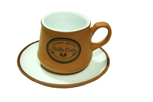 Brown Terracotta Ceramic Coffee & Tea Cup