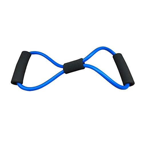 X-Sea Multifunction Rally Chest fitness equipment Men and women pull rope elastic rope arm Yoga Fitness Equipment Home Interior (blue) (Pull Arm)