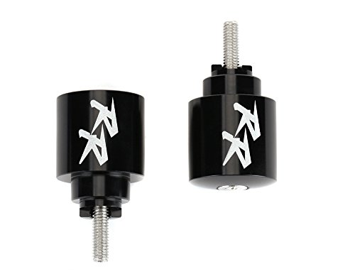 Motorcycle Bar Ends CNC Spools Sliders Hand Grip Handlebar End Caps For HONDA