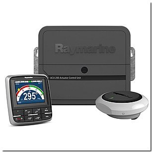 RAYMARINE RAY-T70155 / EV-200 p70 Sailboat Pack No Drive, MFG# T70155, Evolution Autopilot system consisting of ACU200 processor, p70 control head, EV-1 sensor, and EV-1 cabling kit. Drive unit not included.