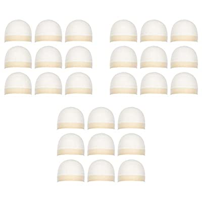 Milano Collection Premium 27 Count Value Pack Nylon Wig Cap Stockings for Wigs and Frontals