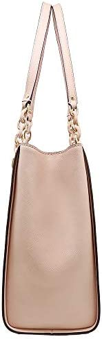 MICHAEL KORS SAFFIANO LEATHER SOFIA LARGE TOTE BAG IN BALLET gTiWAhhf