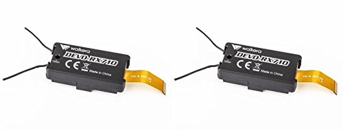 2 x Quantity of Walkera Runner 250 Racer 250-Z-18 DEVO-RX710 Receiver RX Module Quad-Copter Drone Communicator