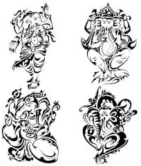 Diseño de tatuajes de estilo de señor ganesha (69414745), lona ...