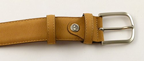Belt in leather Timberland M3595 beige 919: