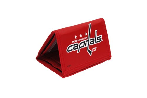 - NHL Washington Capitals Trifold Nylon Wallet