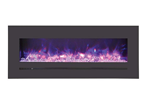 Cheap Sierra Flame Electric Fireplace with Surround (WM-FML-48-5523-STL) 48-Inch Black Friday & Cyber Monday 2019
