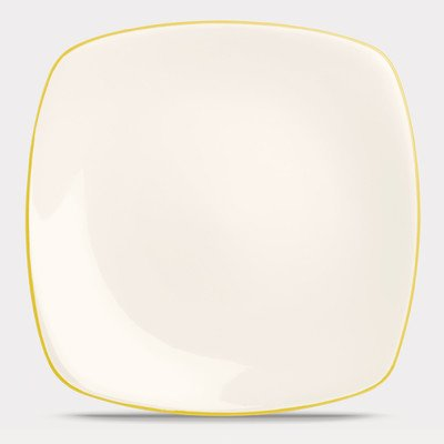 Noritake Colorwave Mustard Square Dinner Plate