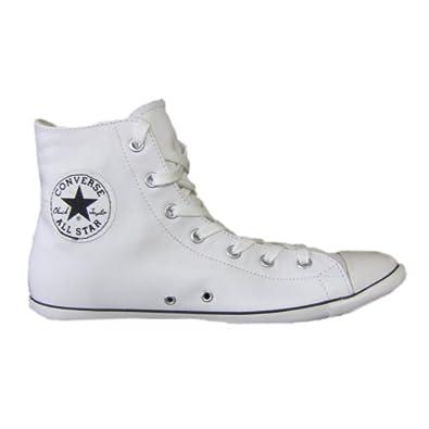 Converse All Star Chucks Leder weiß