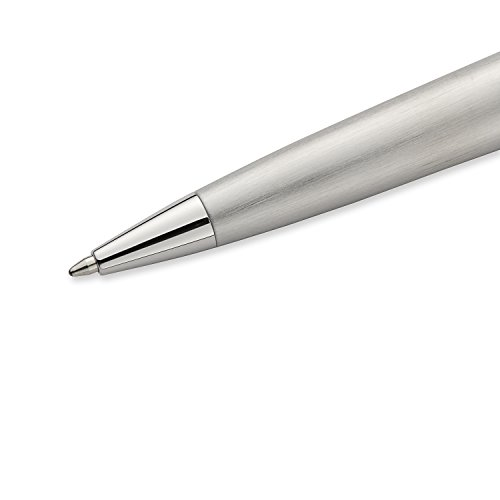 Waterman Expert Stainless Steel, Ballpoint Pen with Medium Blue refill (S0952100) by Waterman (Image #3)