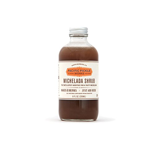 Michelada Shrub   Tart   Spicy Beer Mixer 8Oz  1 Pack
