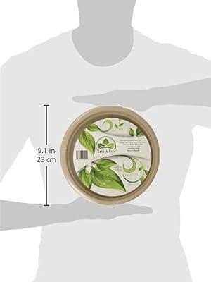 Earth's Natural Alternative Eco-Friendly, Natural Compostable Plant Fiber