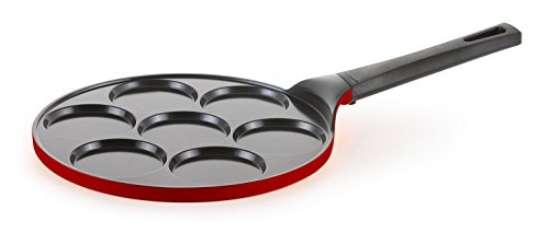 Pancake Pan - 10 inch Ceramic Nonstick in Chili Pepper Red