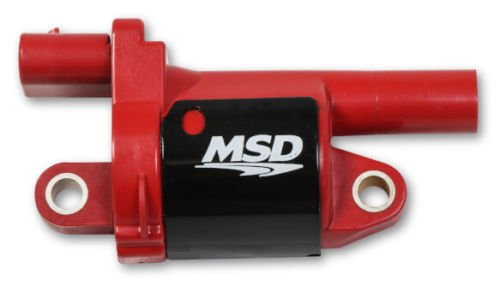 MSD 8268 Coil, Red, Round, 2014 and up GM V8