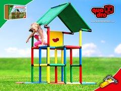 Quadro | Junior | Giant Construction KIT | Climbing Toy | Large Scale Building Set