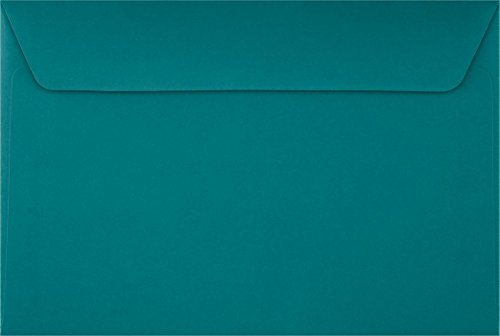 Direct Mail Envelopes - 6 x 9 Booklet Envelopes - Teal (50 Qty) | Perfect for mailing Documents, Catalogs, Direct Mail, Promotional Material, Brochures and More| EX4820-25-50