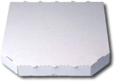 Caja de cartón para pizza (200 unidades) Trevisor 28 x 28 x 3 cm en blanco: Amazon.es: Hogar