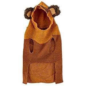 Cheap Star Wars Ewok Dog Sweater with Knit Hoodie (Large)
