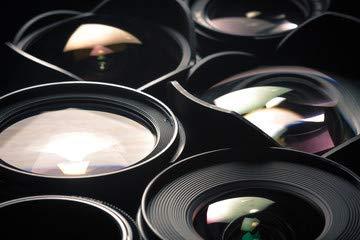 Cambio de lentes de cámara réflex digital, different sizes and ...