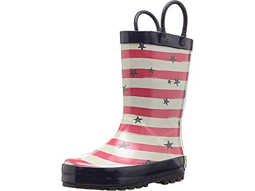 - Western Chief Kids Baby Girl's Limited Edition Printed Rain Boots (Toddler/Little Kid) Stars and Stripes Navy 2 M US Little Kid