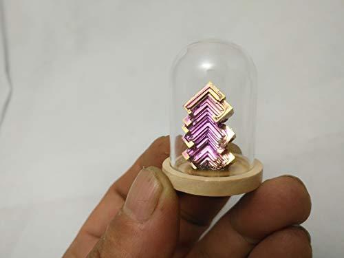 Bismuth Crystal Specimen Decoration Mineral Earth Science Minerals Collection Bismuth Crystal Samples Christmas Gift Cabinet