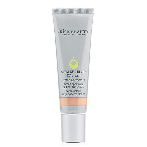 Juice Beauty Stem Cellular CC Cream with Zinc SPF 30, Color-Correcting Face Moisturizer, 1.7 Fl Oz