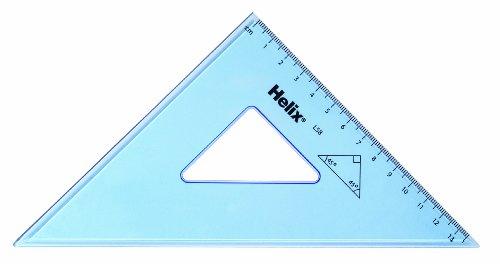 (Helix 21cm 45 Degree Set Square (Box of 25) L58040)