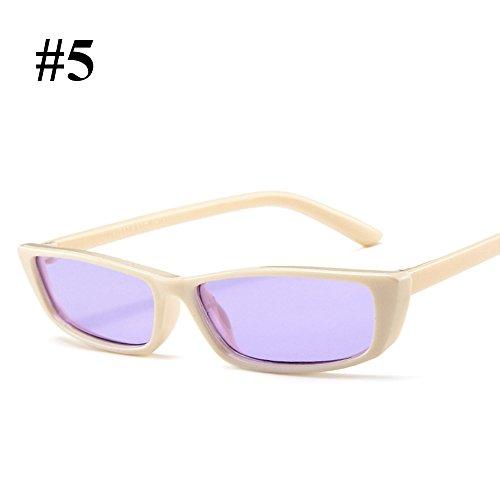 de 5 Sol Protección Retro Moda wlgreatsp UV de Señoras Gafas Gafas Gafas 68PfPwqB