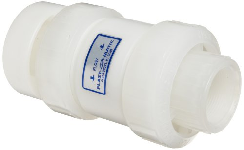 (Plast-O-Matic VBS Series Polypropylene Vacuum Breaker Valve, For Corrosive and Ultra-Pure Liquids, , 3
