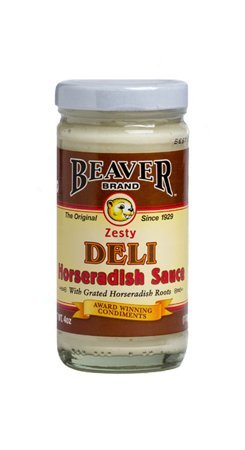 BEAVER Horseradish Sauce 4.0 OZ (Pack of 2)
