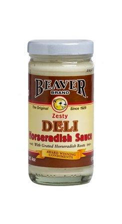 BEAVER Horseradish Sauce 4.0 OZ (Pack of 2)