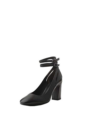 Noir Escarpins Cuir Pf18wf060black What For Femme HqwA1tR