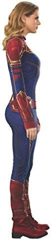 Rubie's Official Captain Marvel Hero Suit, Adult Ladies Costume Deluxe, Size X-Small