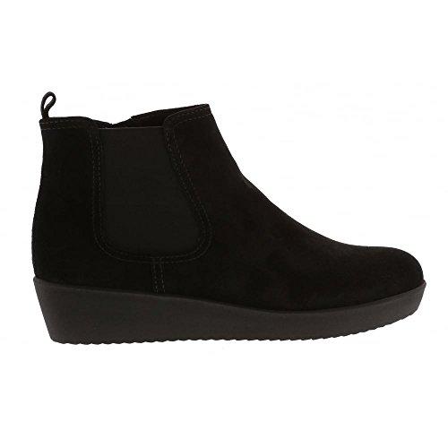 Gabor 47 para Comfort Basic Shoes Schwarz Negro Micro Mujer Botas gUgaTwq