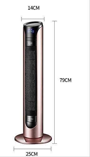 ZHWEI 家庭やオフィスの使用するためのヒーター、900Wポータブル扇風機ヒーター、オーバーヒート&転倒の保護 ポータブル (Color : Pink)
