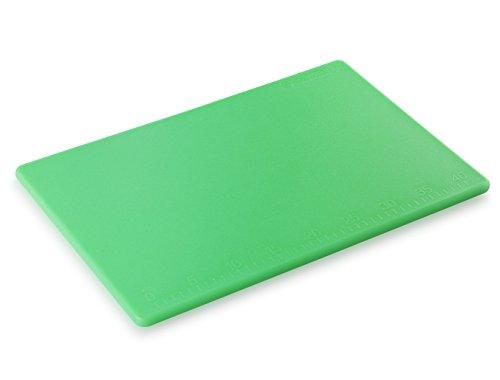 New Star Foodservice 28843 Cutting Board, 12x18x1/2-Inch, Green