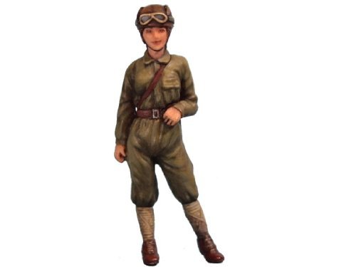 Aurora model 1/35 Military WWII Imperial Army Women Tank soldiers garage kit figures (Aurora Womens Figure)