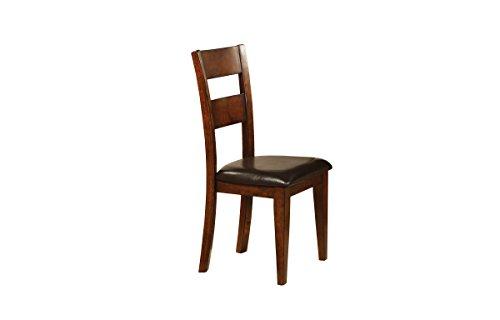 Mango Side Chair in Walnut Finish - Set of 2