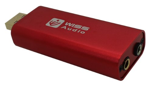 Wiss Audio USB DAC with Headphone Amplifier - Retail Packaging - Red by Wiss Audio (Image #1)