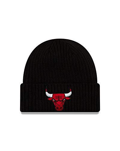 New Era Chicago Bulls Core Classic Knit Beanie - Black Black Classic Knit Beanie