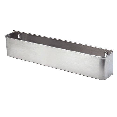 Stainless Steel Bottle Trough - Single, 46inchW 1 Each by Value Series