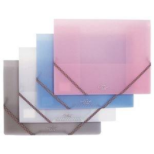 生活日用品 (まとめ買い) フラットホルダー A4 50枚収容 背幅5~32mm ピンク NFH-A4-CP 1冊 【×20セット】 B074JNJ1HS