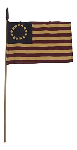 Extra Large Betsy Ross Flag On A Stick