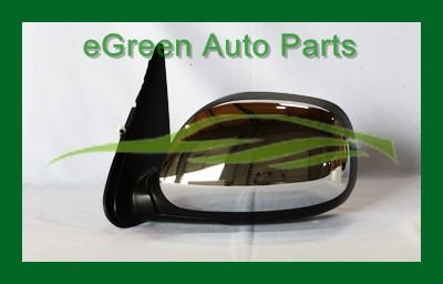 03-06 Tundra Double Cab Door Side Mirror Left Driver Power Non-Heated Chrome