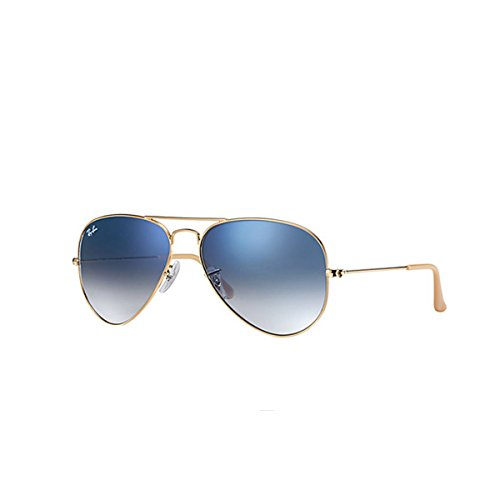 Ray-Ban AVIATOR LARGE METAL - GOLD Frame CRYSTAL GRADIENT LI