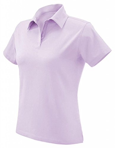 2008 Golf Shirt - Devon & Jones Stretch Jersey Polo (DP305W) Azalea, L